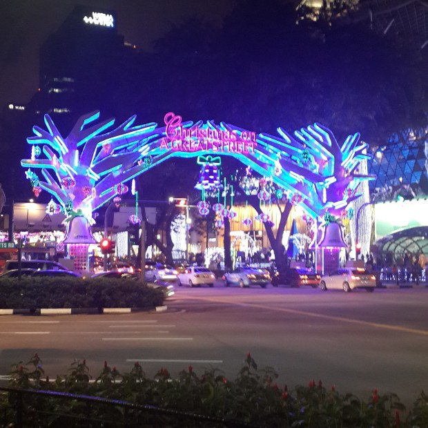 Orchard Road Light Illumination