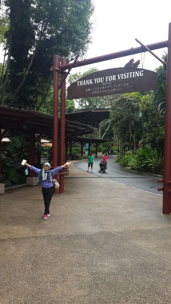 Jurong Bird Park selesaaaii!!!