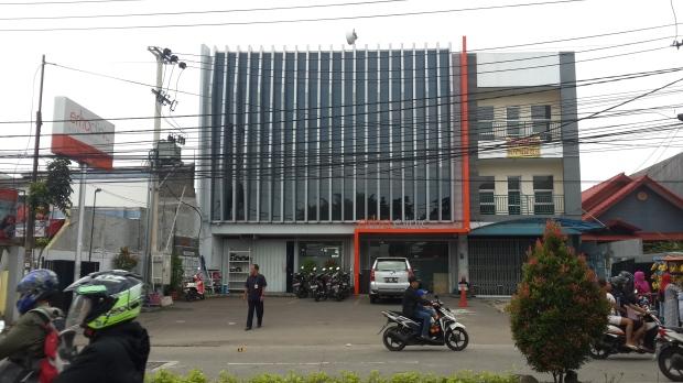 Tampak depan bangunan Erha Clinic Depok